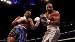 Безмилостно ляво кроше сложи край на епичната битка в 11-ия рунд, когато Уайт изглеждаше по-свежия боксьор