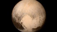 Първата снимка на Плутон