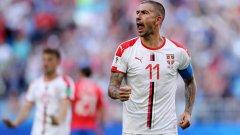 Коларов подари победата на Сърбия с изключителен гол от пряк свободен удар