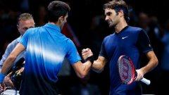 Федерер стигна до финала заради отказване на Гофен, а Джокович спечели оспорванта битка с Марин Чилич с 6:4, 3:6, 6:3