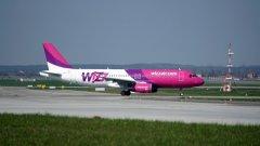 Wizz Air регистрира много нисък процент на неявили се пътници