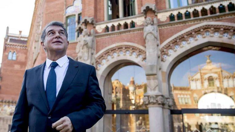 Жоан Лапорта не крие амбициите си да се завърне начело на каталунците като президент.