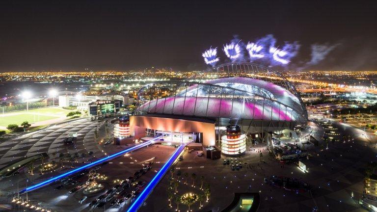 """Стадион """"Халифа"""" бе открит официално на 19 май"""