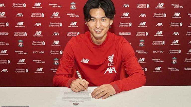 4. Такуми Минамино (От Ред Бул Залцбург в Ливърпул) 24-годишният японец подписа договор за 4,5 години. Сумата по сделката не бе оповестена официално, но най-вероятно е 7,25 милиона паунда, колкото бе освобождаващата клауза на азиатеца в договора му с австрийския шампион.