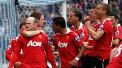 Голът на Рууни от дузпа короняса Манчестър Юнайтед за рекорден 19-и път