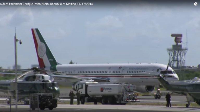 Един от най-луксозните президентски самолети е на президента на Мексико.