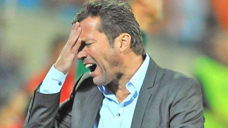 Българският футболен съюз освободи Лотар Матеус от поста национален селекционер