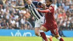 Ливърпул се срина срещу УБА. Салах отбеляза дежурния си гол