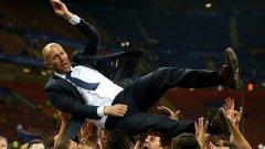 Зинедин Зидан стана първият човек в историята на Шампионската лига, спечелил трофея като футболист, помощник-треньор и треньор