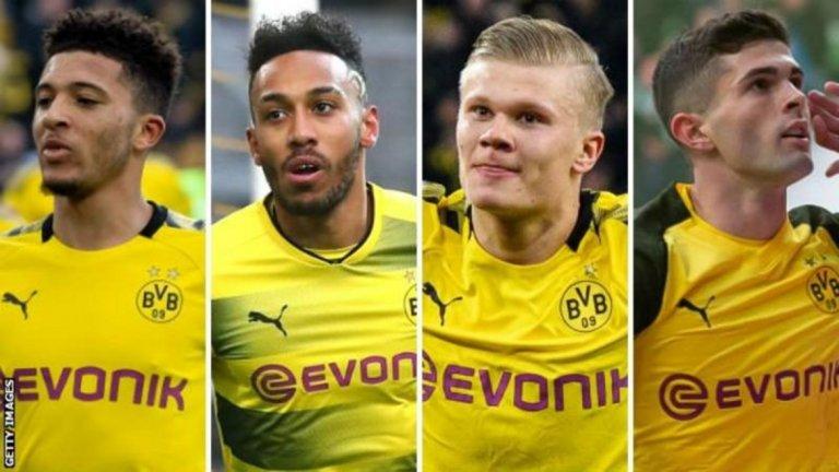 Дортмунд е клуб, в който един от основните приоритети е да се развиват млади таланти.