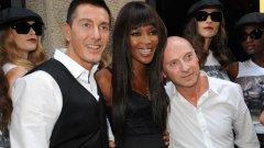 Модното дуо ще спонсорира боксьорите от Milano Thunder