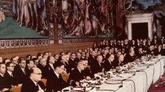 В навечерието на отбелязването на 60-тата годишнина от подписването на Договора в Рим, с който се полагат основите на Европейския съюз, си струва да зададем доста скандален въпрос за един от бащите на Европа - руският емигрант Александър Кожев