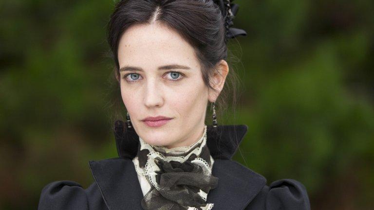 """Ванеса Айвс, """"Викторианска готика"""" Ева Грийн. Дори само името на актрисата, която играе Ванеса във """"Викторианска готика"""", е достатъчно, за да разберете за какво говорим. С тясното си лице, изразителни синьо-зелени очи и гарвановочерна коса Ева Грийн може да бъде речников пример за това как изглежда фаталната жена. А нейната героиня в сериала, освен всичко това, притежава скрити магически дарби, които я правят фатално привлекателна за краля на вампирите, самият Дракула, от когото тя търси отмъщение, задето е отвлякъл най-добрата ѝ приятелка Мина (да, онази Мина от романа на Брам Стокър). Около Ванеса валят трупове, а мракът ѝ е постоянен спътник."""