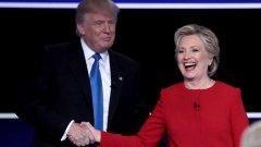Когато изборът е между двамата най-мразени кандидати в историята, нищо чудно, че някои хора не могат да решат