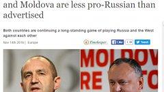 """Заглавието на The Economist отразява """"втората вълна"""" - на медиите, които все пак си дадоха сметка, че Румен Радев не е съвсем онзи, за когото го представят световните агенции"""