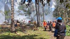 Най-малко 45 са жертвите от катастрофата на Филипините
