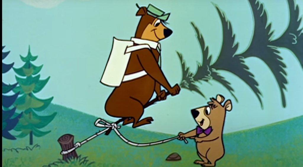 """""""Yogi Bear/ """"Мечето Йоги""""  Това е вторият голям пробив на Хана и Барбера след """"Том и Джери"""" и в продължение на години образът на мечока Йоги представлява лицето на тяхното студио за анимационни и игрални филми."""