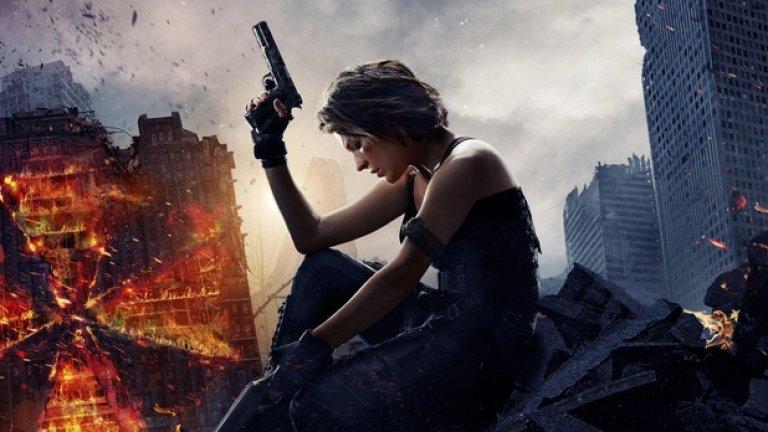 """""""Заразно зло: Финалът"""" / Resident Evil: The Final Chapter (27 януари)   Пет години след последния епизод на """"Заразно зло"""" Мила Йовович се завръща, за да сложи края на sci-fi хорър поредицата, чието лице беше в продължение на повече от десетилетие. Шестият филм ще затвори цикъла на сагата за антиутопичното бъдеще, в което вирусите, създадени от корпорациите, предизвикват глобална зомби-чума."""