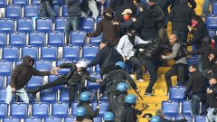 Полицията в Рим отново ще е на щрек, за да се избегнат подобни сблъсъци