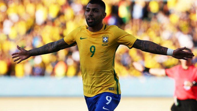 Габигол помогна на Бразилия да вземе златото на Игрите в Рио преди три години, а силните му изяви във Фламенго го върнаха в националния тим