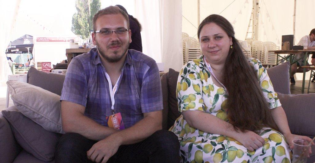 Александър Панджаров и Красимира Димитрова