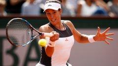 Французойка шокира шампионката на Ролан Гарос