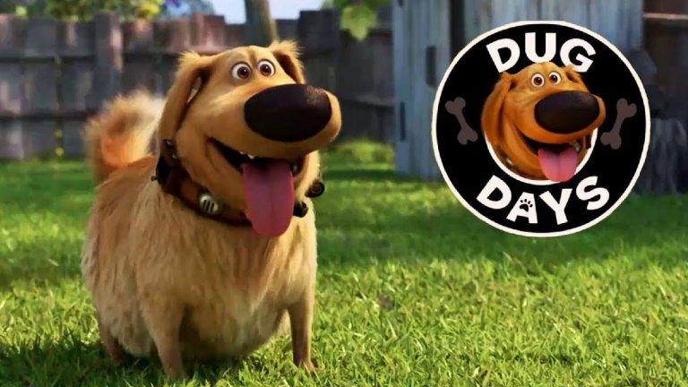 """Dug Days (Disney+) - 1 септември Това ще е една забавна поредица от кратки и смешни видеа, посветени на Дъг - веселото куче от """"В небето"""", любимата анимация от """"Дисни"""" и """"Пиксар"""". Всеки кратък епизод ще представя ежедневни събития, които се случват в задния двор на Дъг, като зрителят ще може да види тези случки през вълнуващия и леко изкривен поглед на говорещото куче."""