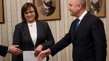 """Румен Радев поздрави социалистите за """"отговорния подход"""" и им пожела успех на изборите"""