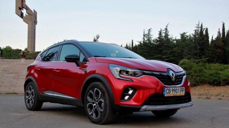 Новото Renault Captur 1400 км по-късно