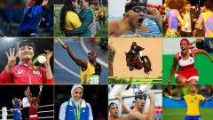 16 велики момента от Рио 2016...