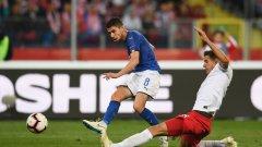 Жоржиньо и останалите играчи на Роберто Манчини се измъчиха и в този мач, но накрая постигнаха заслужена победа