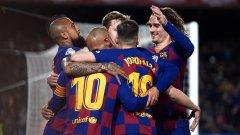 Барселона най-вероятно ще бъде определен за шампион, ако испанското първенство не се доиграе