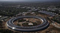 "Новата ""космическа"" централа на Apple в Купертино"