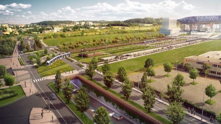 Очаква се Лион да се премести на новия стадион в края на 2015 или началото на 2016 година