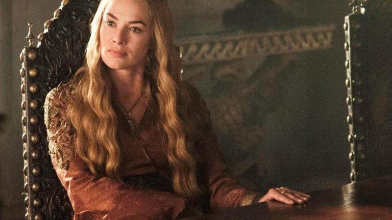 """Церсей Ланистър, """"Игра на тронове"""" Подобно брат си Тирион, Церсей пие и знае разни неща. Но в добавка към това е склонна да убие всеки, който я засегне, заплаши и т.н. Церсей е перфектната красавица на кралството (Лина Хийди изиграва прекрасна роля в случая), но също така е жадна за власт и за признание. Макар истинската ѝ любов да е брат ѝ, а тя реално да е омъжена за крал Робърт Баратеон, Церсей не се поколебава да съблазнява хора, които биха ѝ потрябвали, стига това да ѝ осигури подходящото предимство. Разбира се, тя самата предпочита да заповядва и да управлява със сила, което е добавка към относително психопатския ѝ профил."""