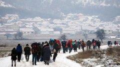 Мигрантите, които влизат в Сърбия, наподобяват пехотинци, изпълнени със страдание, когато се изсипват от автобусите. А първата им молба не е за вода, храна или памперси...