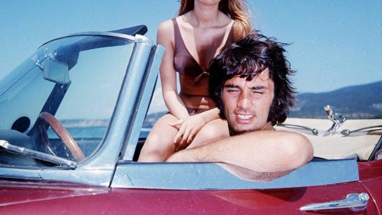 Джордж Бест и актрисата Сюзън Джордж през 1969 г.