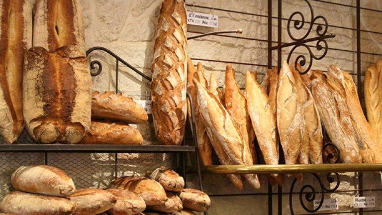 Рафтовете с хляб трябва да бъдат празни на края на деня и клиентите трябва да разбират защо празният рафт за хляб не е нещо лошо.