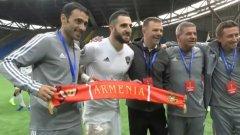 Това е четвърти трофей за Младенов в треньорската му кариера и първи от 2008-а насам