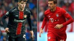 Томас Мюлер и Кай Хавертс са топ целите на Манчестър Юнайтед за зимата