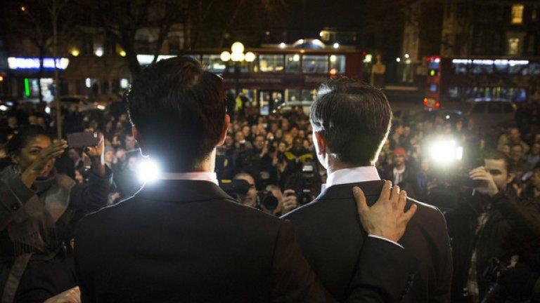 12% от анкетираните са обратното мнение и смятат, че трябва да бъде разрешено на гей двойките да сключват брак