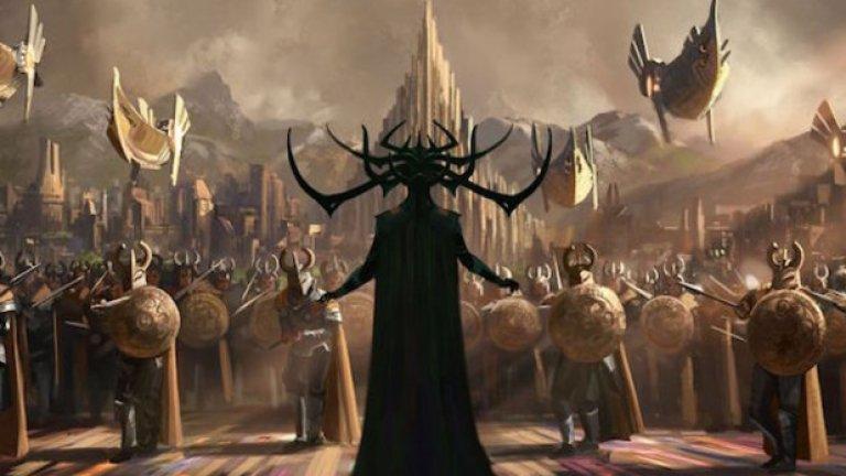 """""""Тор: Рагнарьок"""" / Thor: Ragnarok (3 ноември)   В скандинавската митология Рагнарьок е апокалиптична поредица от събития, които довеждат до потоп на земята след смъртта на няколко богове - включително Один, Тор и Локи. Кулминацията на този катаклизъм е прераждане на планетата. Със сигурност ни очаква драматичен и зрелищен филм, с участието на Крис Хемсуърт и Марк Ръфало."""