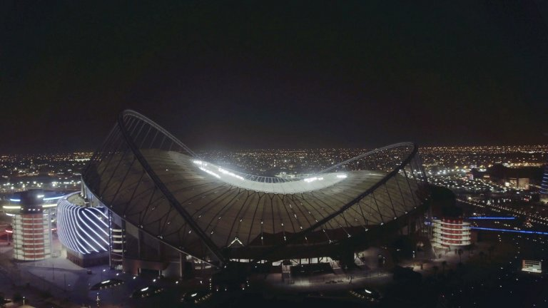 """Откриване на стадион """"Халифа"""""""