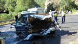 Двама души загинаха в катастрофа в Кресненското дефиле