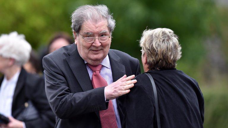 """""""Управлявах хора, които направиха всичко по силите си да проливат потта, а не кръвта си, за да запазят мира в Северна Ирландия."""""""