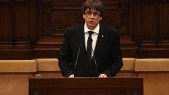 Карлес Пучдемон призова да се върви към диалог с Мадрид по темата