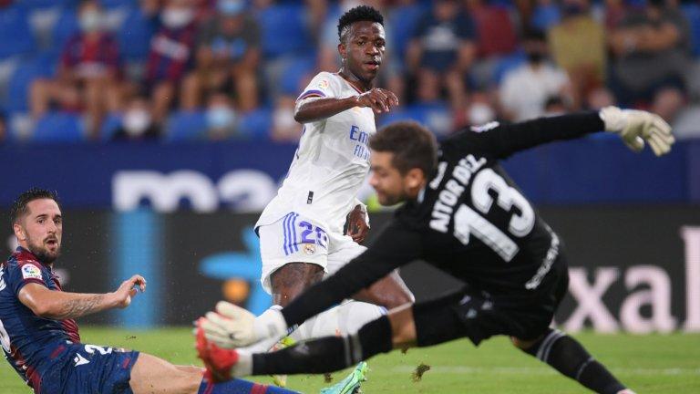 Винисиус спаси Реал от поражение в голов трилър
