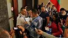 Те настояваха за среща с правосъдния министър Данаил Кирилов