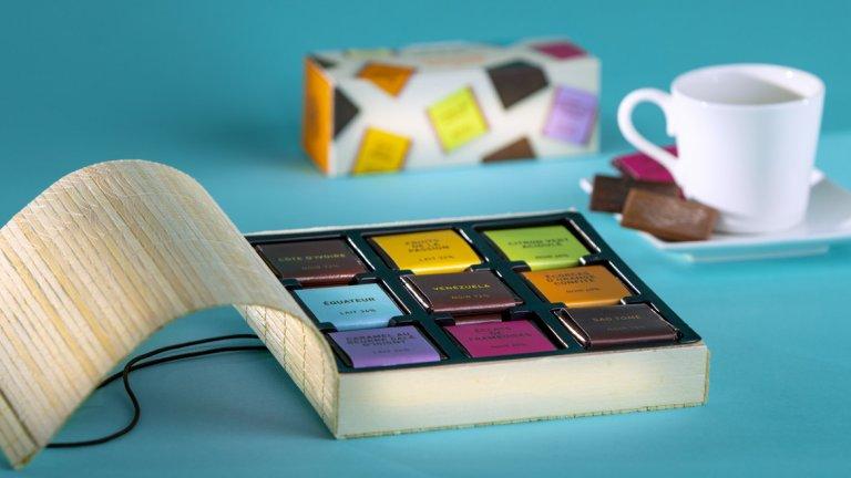 Квадратите… Тези малки шоколадови плочки, които толкова лесно можем да носим навсякъде с нас и да си похапваме, са съвършеното допълнение към кафето и чая и доставят огромно удоволствие, а тежат само няколко грама.