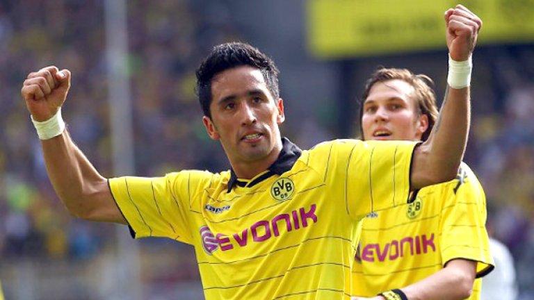 Лукас Бариос е един от най-ценните нападатели в Европа този сезон